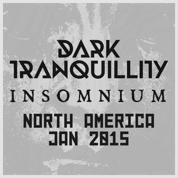 Dark Tranquillity / Insomnium: North America Tour 2015