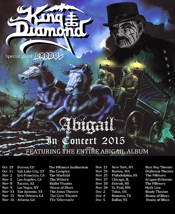 King Diamond: Abigail in Concert 2015