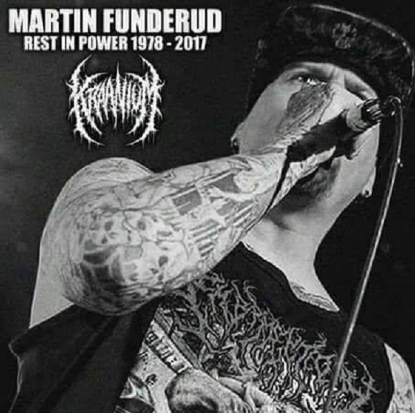 Kraanium: Martin Funderud